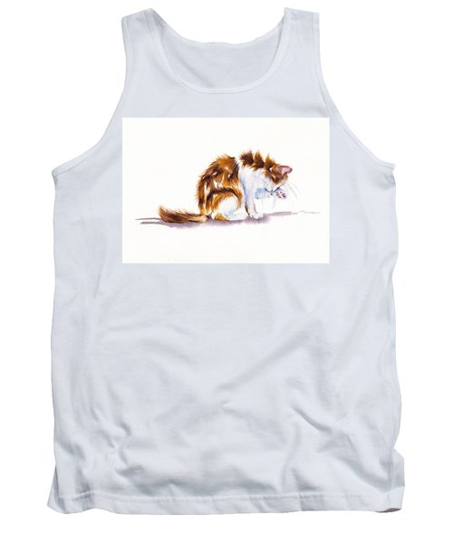 Calico Cat Washing Tank Top