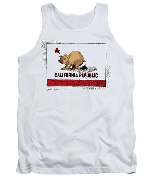 California Budget Iou Tank Top