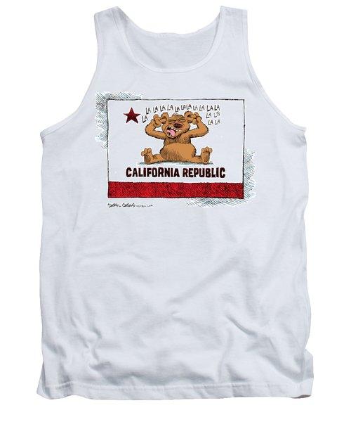California Budget La La La Tank Top