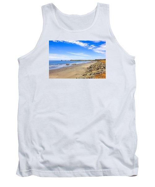 California Coastline Tank Top by Chris Smith