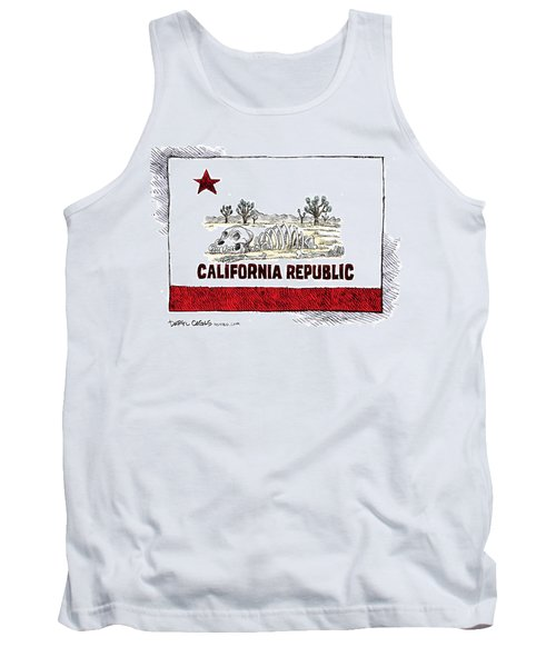 California Drought Tank Top