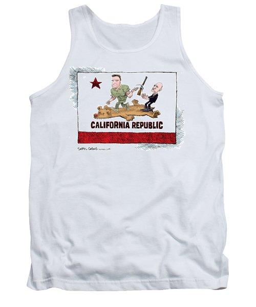 California Governor Handoff Tank Top