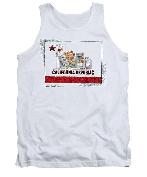 California Is Sick Tank Top