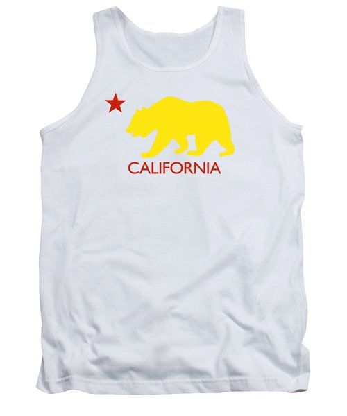 California Tank Top by Jim Pavelle