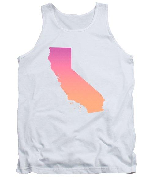 California Summer Ombre Tank Top