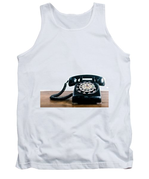 Tank Top featuring the photograph Call Me Let's Do Work. by TC Morgan