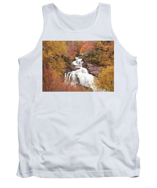 Callasaja Falls- North Carolina 2 Tank Top by Penny Lisowski