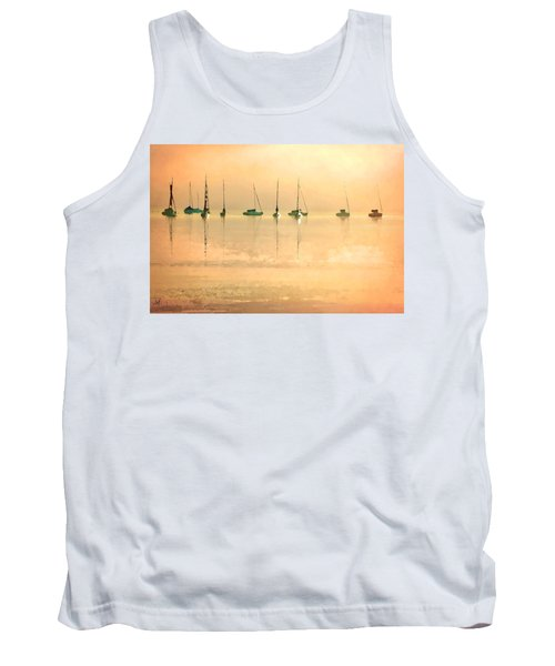 Tank Top featuring the digital art Calm Waters by Shelli Fitzpatrick