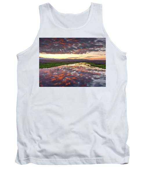 Tank Top featuring the photograph Camas Spring Sunrise by Leland D Howard