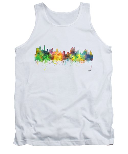 Cambridge England Skyline Tank Top