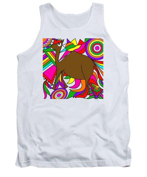 Camel Art Tank Top
