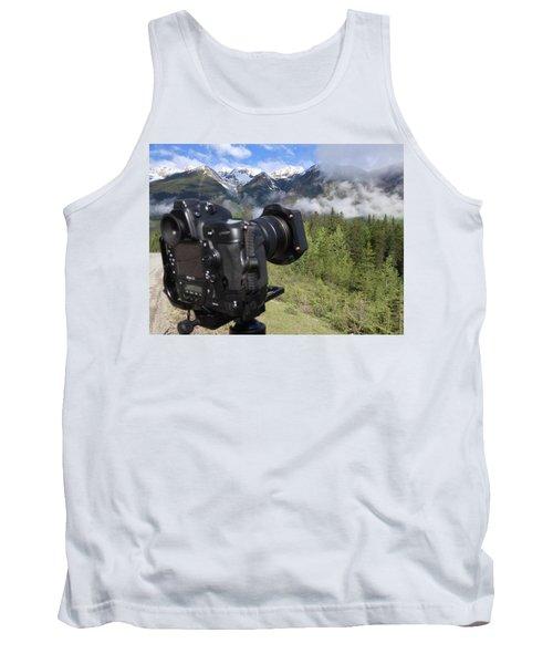 Camera Mountain Tank Top