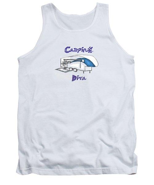 Camping Diva Tank Top