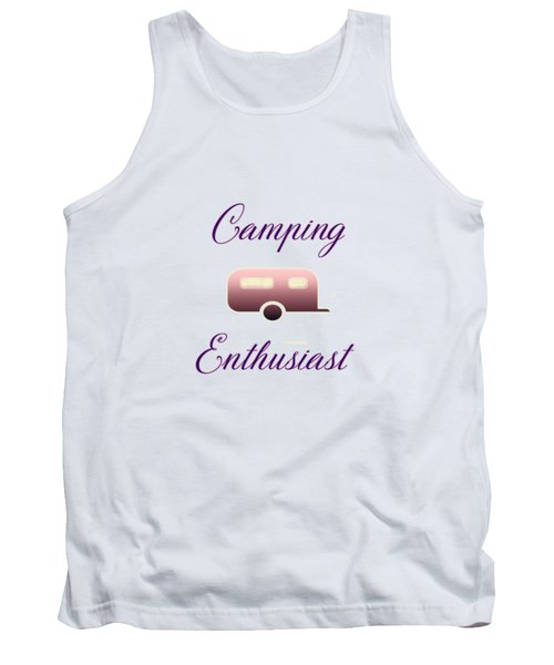 Camping Enthusiast Tank Top