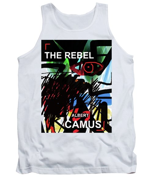 Camus The Rebel  Poster Tank Top