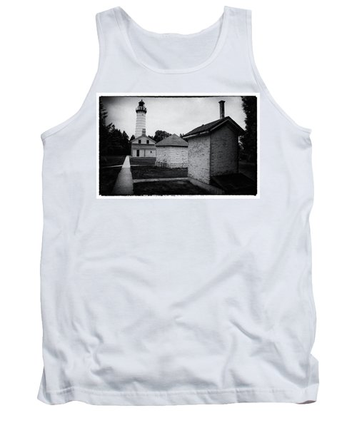 Tank Top featuring the photograph Cana Island Retro by Janice Adomeit