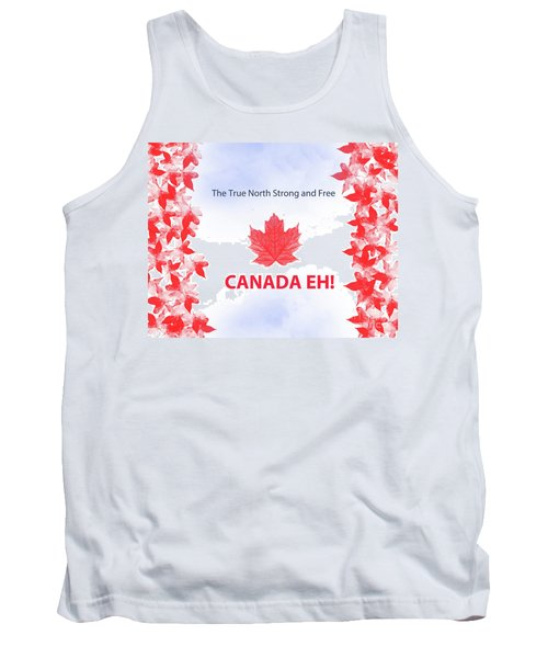 Canada Day 2016 Tank Top by Trilby Cole