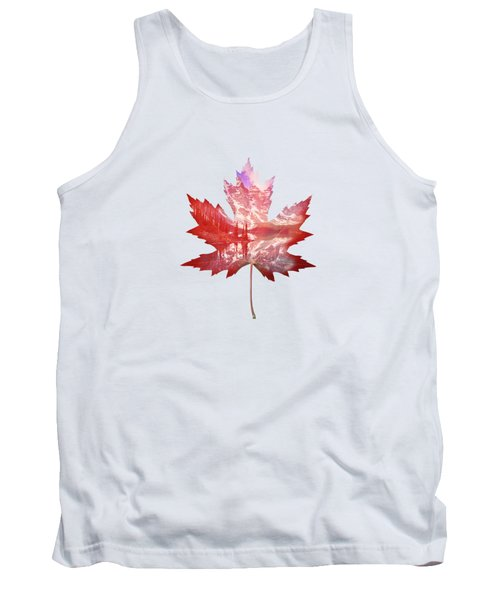 Canada Maple Leaf Tank Top