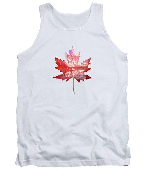 Canada Maple Leaf Tank Top