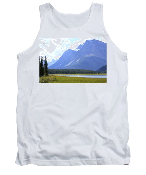 Canadian Mountains Tank Top by Catherine Alfidi
