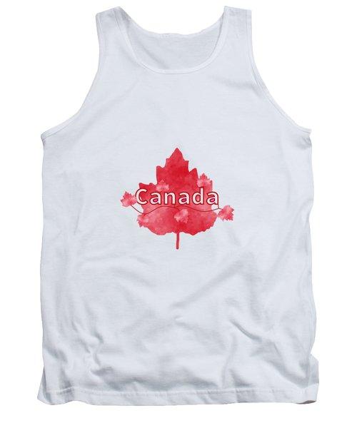 Canada Proud Tank Top by Kathleen Sartoris