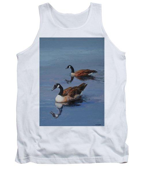 Canadian Geese Tank Top