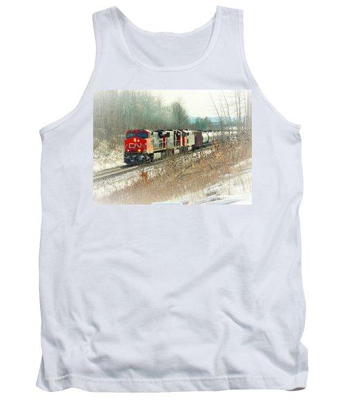 Canadian National Railway Vignette Tank Top
