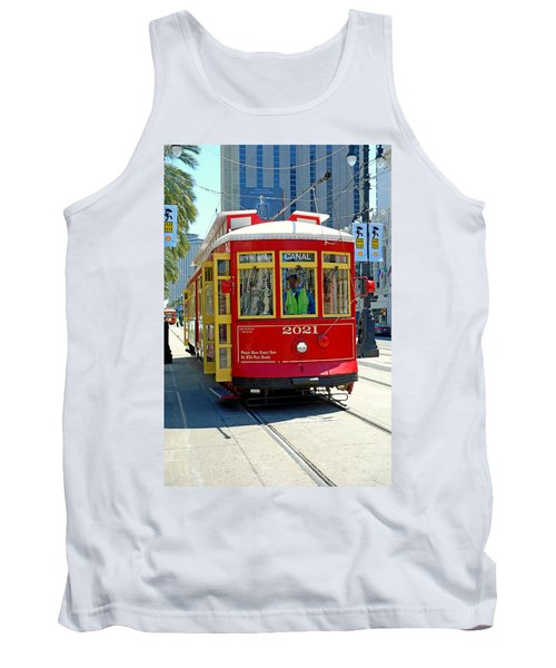Canal Street Cable Car Tank Top
