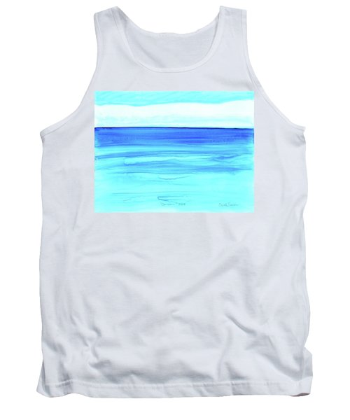 Cancun Mexico Tank Top by Dick Sauer