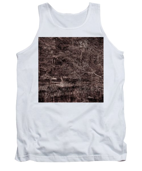 Canoe In The Adirondacks Tank Top by David Patterson