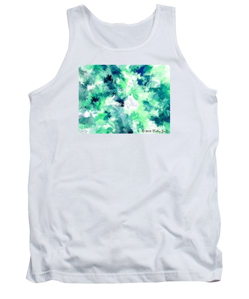 Tank Top featuring the painting Can't Stop Smiling by Holley Jacobs