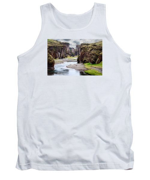 Canyon Vista Tank Top by William Beuther