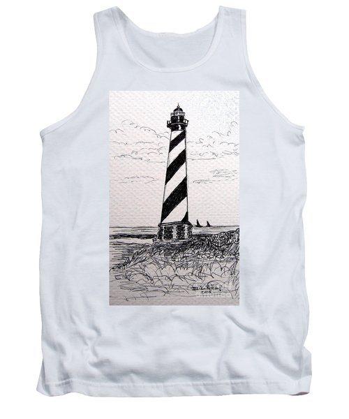 Cape Hatteras Lighthouse Nc Tank Top