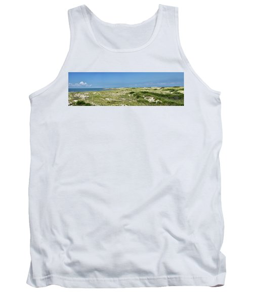 Cape Henlopen State Park - The Point - Delaware Tank Top by Brendan Reals