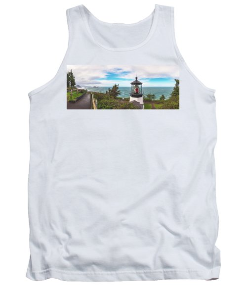 Tank Top featuring the photograph Cape Meares Bright by Darren White