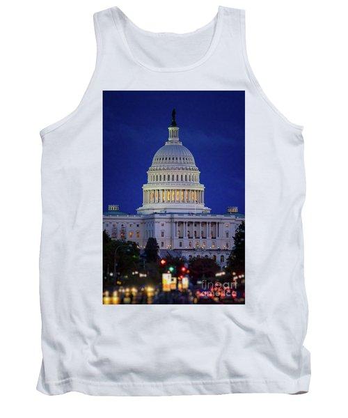 Capitol At Dusk Tank Top