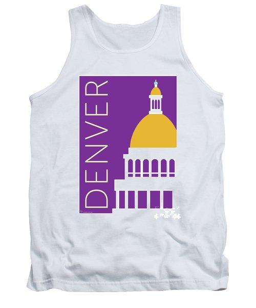 Denver Capitol/purple Tank Top