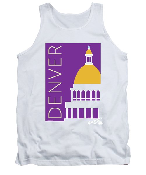 Denver Capitol/purple Tank Top