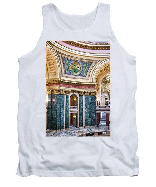 Capitol Rotunda -madison - Wisconsin Tank Top