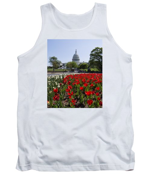 Capitol Tulips  Tank Top