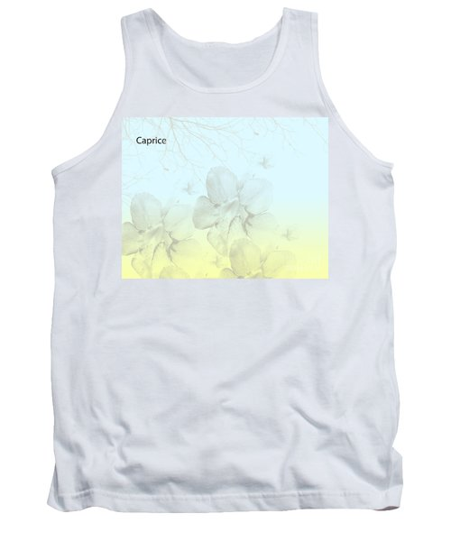 Caprice Tank Top by Trilby Cole