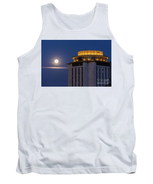 Capstone House And Full Moon Tank Top