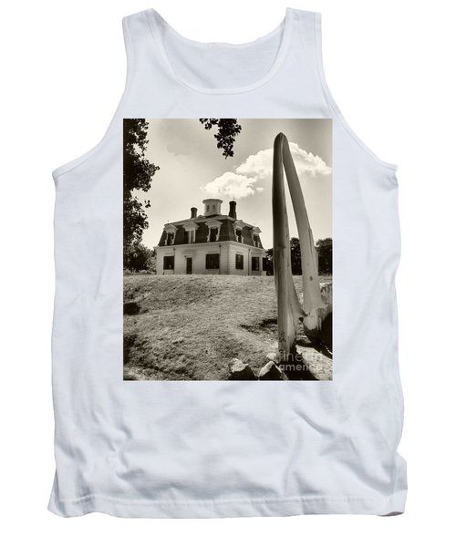 Captions Home Tank Top by Raymond Earley