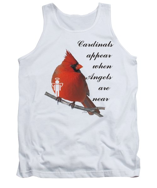 Cardinals And Angels Tank Top