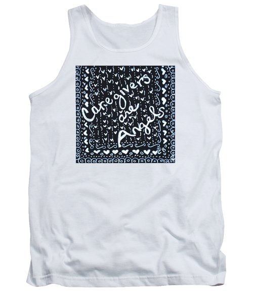 Caregivers Are Angels Tank Top