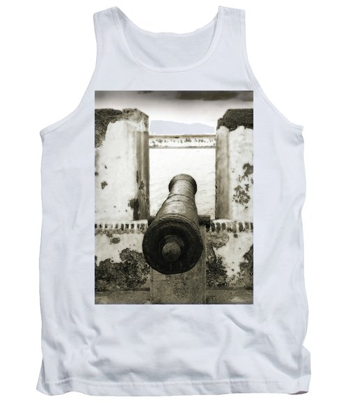 Caribbean Cannon Tank Top