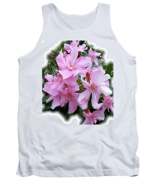 Tank Top featuring the photograph Caribbean Oleander by Marie Hicks