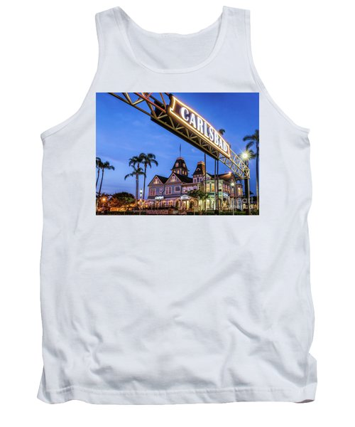 Carlsbad Welcome Sign Tank Top