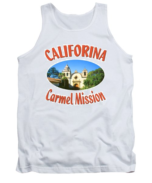 Carmel Mission California Design Tank Top