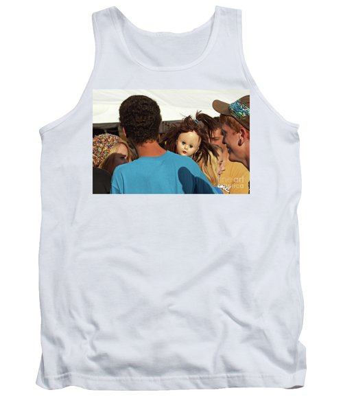 Tank Top featuring the photograph Carnival Adoption by Joe Jake Pratt